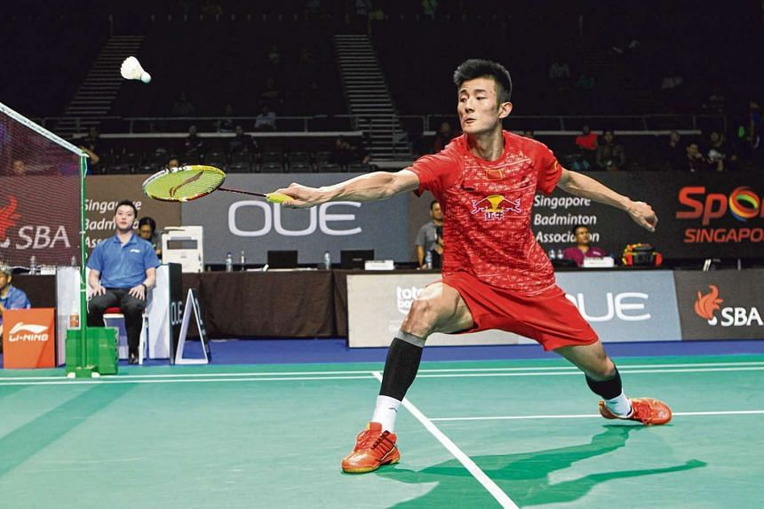 Chen Long would have been the biggest name on the Chinese team at the Superseries event.