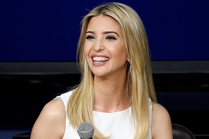 Actress Scarlett Johansson has impersonated Ms Ivanka Trump (above) in a Saturday Night Live sketch.