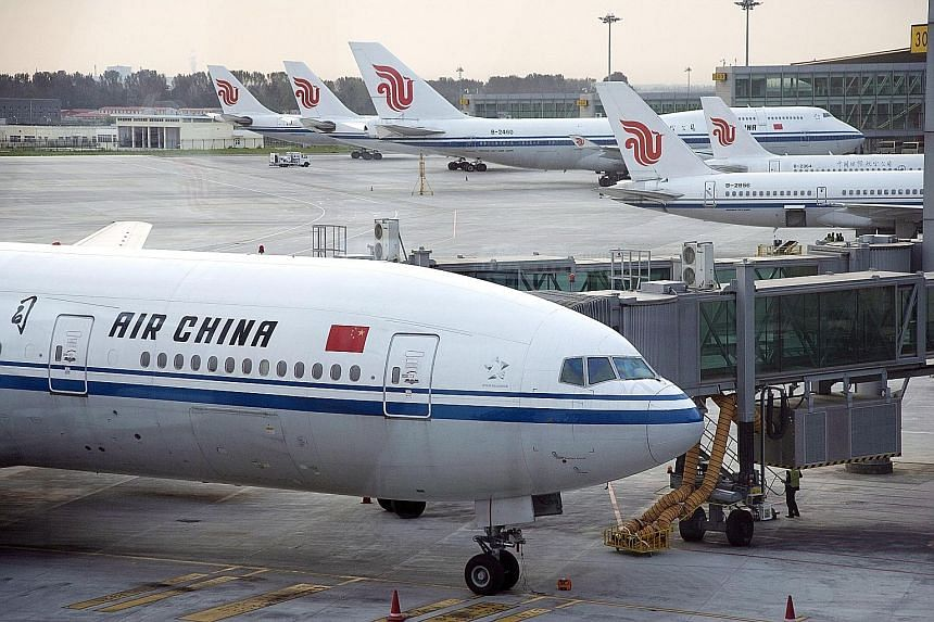 With the growing demand for air travel in China, Chinese carriers are expanding rapidly, at the expense of their rivals. The three state-owned Chinese carriers - China Southern, China Eastern and Air China - operate a fleet of about 1,400 aircraft. S