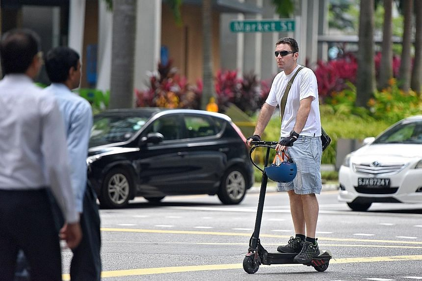 LTA said measures are in place to protect public path users.
