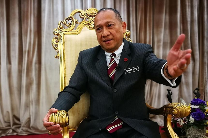 "Mr Nazri Aziz called Dr Mahathir Mohamad, his former boss, ""a liar"", ""the biggest fraud of all"", ""dictatorial"" and ""mad"". On his long tenure in Cabinet, he said it is largely due to his honesty and his not being a hypocrite."