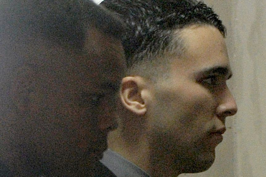 """Lance Corporal Joseph Scott Pemberton was found guilty of homicide in December 2015 for killing, in a drunken rage, Mr Jeffrey Laude, who also went by the name """"Jennifer""""."""