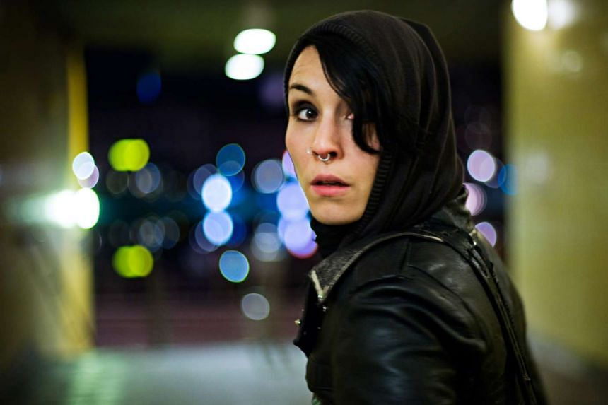Noomi Rapace in the movie adaptation of The Girl With The Dragon Tattoo.