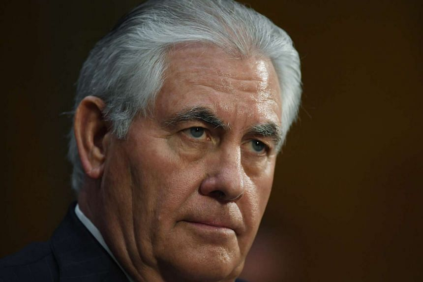 Secretary of State Rex Tillerson was far more critical of the Russian government than any public statements by President Donald Trump.