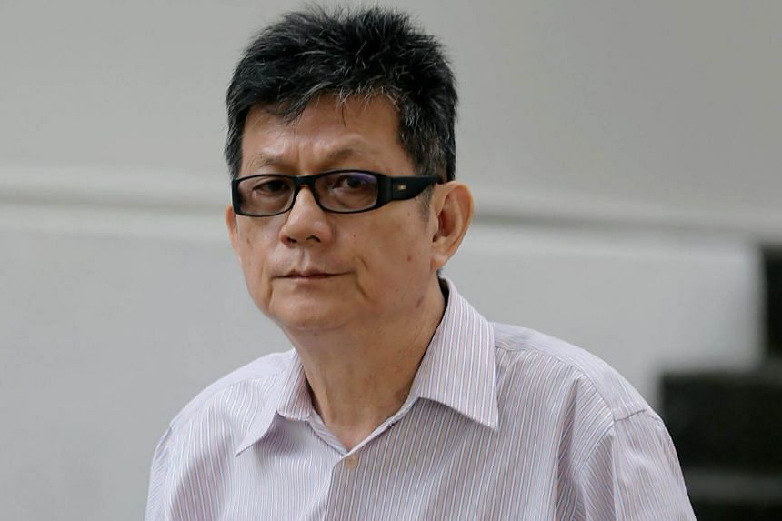 Tang Koon Huat pleaded guilty to one charge of making an electronic record containing an incitement to violence.