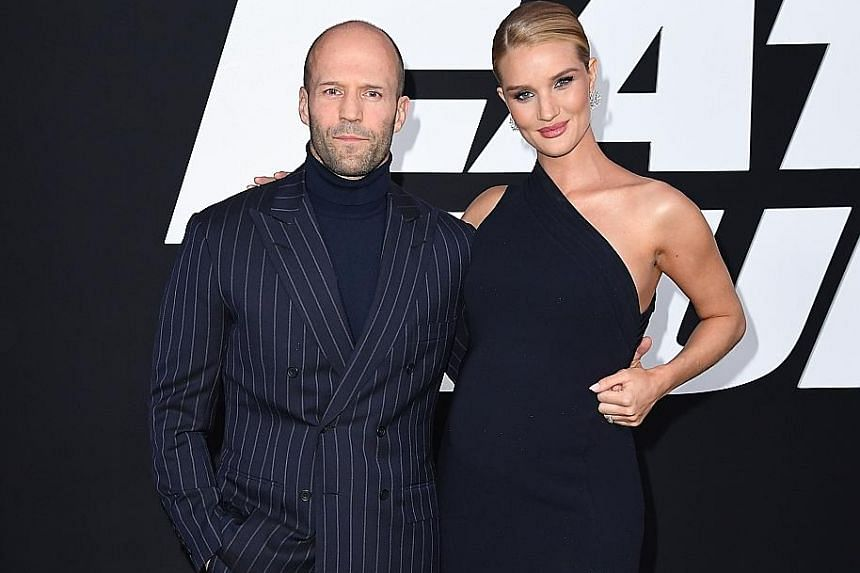 Jason Statham, with pregnant fiancee Rosie Huntington- Whiteley, enjoys doing adult comedies, but is careful about the scripts he picks.
