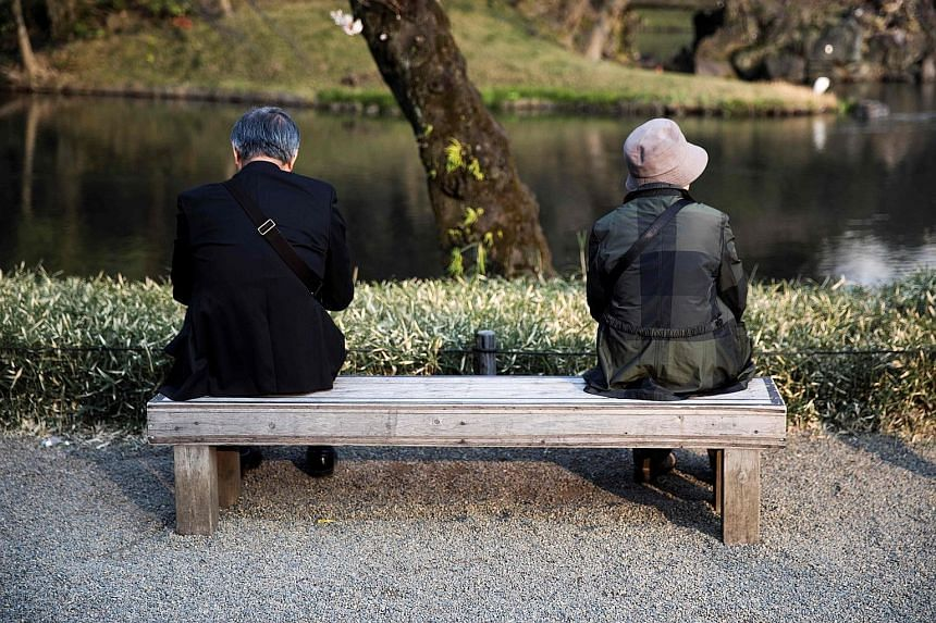 The rate of decline in Japan's population is set to be slower than earlier forecast, due to more women in their 30s and 40s having children. But the ranks of those aged 65 and older will also likely grow to 38.4 per cent of the population by 2065, wi