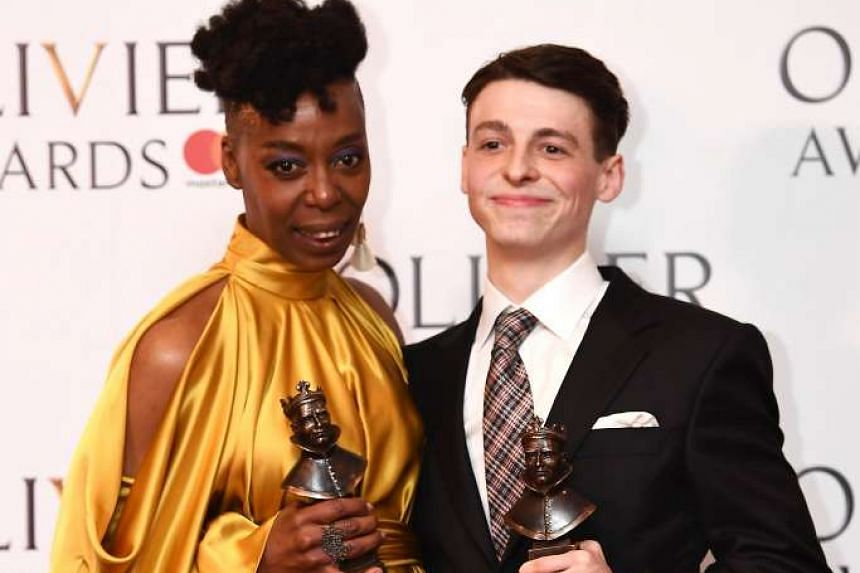At the Olivier Awards, Harry Potter And The Cursed Child's Noma Dumezweni and Anthony Boyle (both above) won best supporting honours, while Billie Piper won best actress for Yerma.