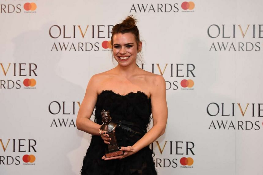 At the Olivier Awards, Harry Potter And The Cursed Child's Noma Dumezweni and Anthony Boyle won best supporting honours, while Billie Piper (above) won best actress for Yerma.