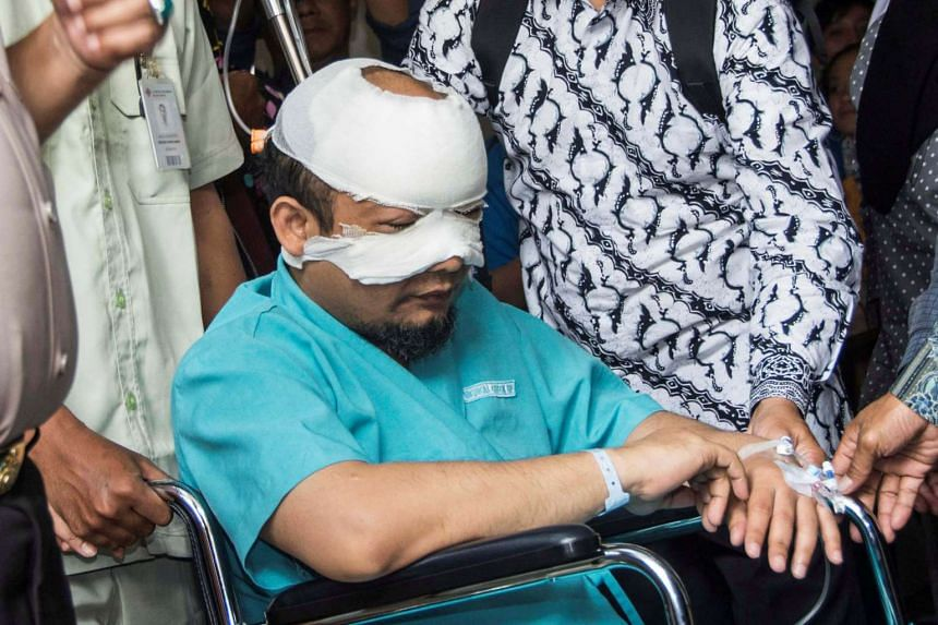 Novel Baswedan was walking home in the early morning of April 10 when he was attacked by two men, who have yet to be identified.