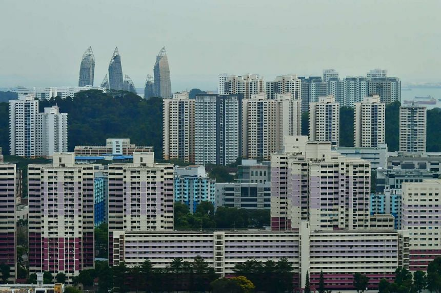 HDB flats are sold on a 99-year lease.