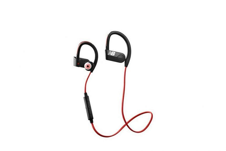 The New Balance PaceIQ wireless earphones can connect to any Bluetooth mobile device to stream music wirelessly, but it works best with the RunIQ running watch.