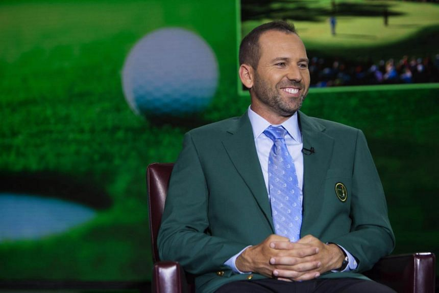"""Golfer Serigo Garcia says that while """"the Masters is like the Champions League, the British Open is like the Champions' Champions League""""."""