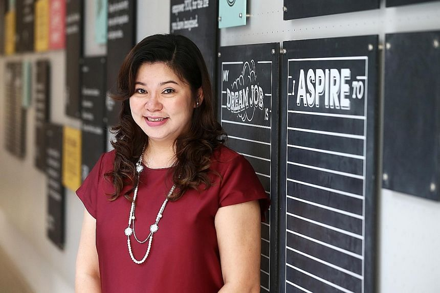 Ms Peh Li Lin, director of Zee Schoolhouse, hopes to improve HR policies at the centre in order to retain employees.