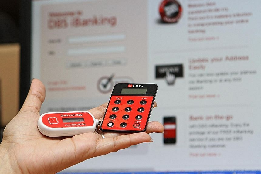 DBS Bank's hardware tokens will be replaced by digital ones, embedded in the bank's digibank app, to generate one-time passwords.