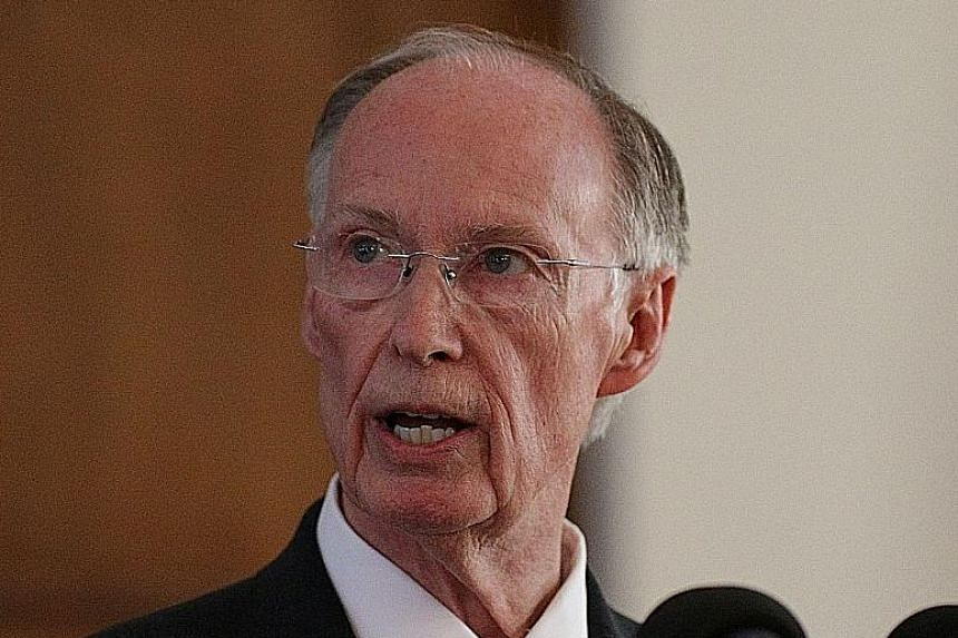 Governor Robert Bentley, 74, tried to hide his affair with his 45-year-old aide.