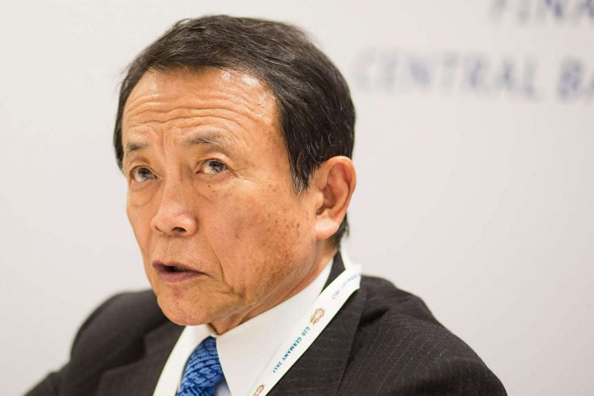 Japanese Finance Minister Taro Aso, who is also head of the country's financial regulator, said on April 12 that this uncertainty could cause confusion for stock and bond markets.