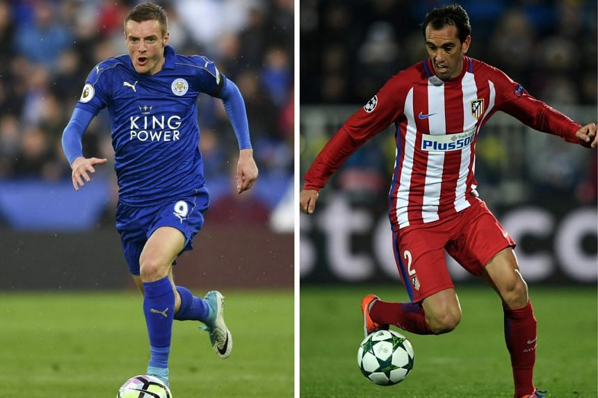 Atletico Madrid will face Leicester City in their UEFA Champions League quarter final football match at the Calderon stadium in Madrid, Spain on April 12, 2017.