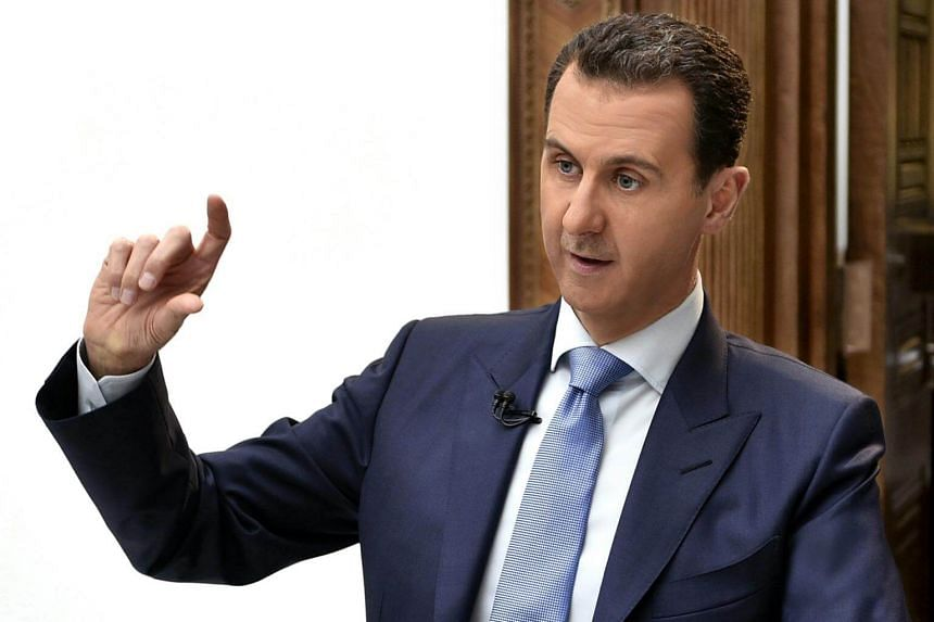 Syrian President Bashar al-Assad said that his government handed over all its chemical weapons stockpiles in 2013.