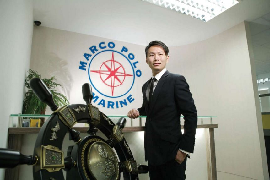 Sean Lee is the chief executive of shipping group Marco Polo Marine.