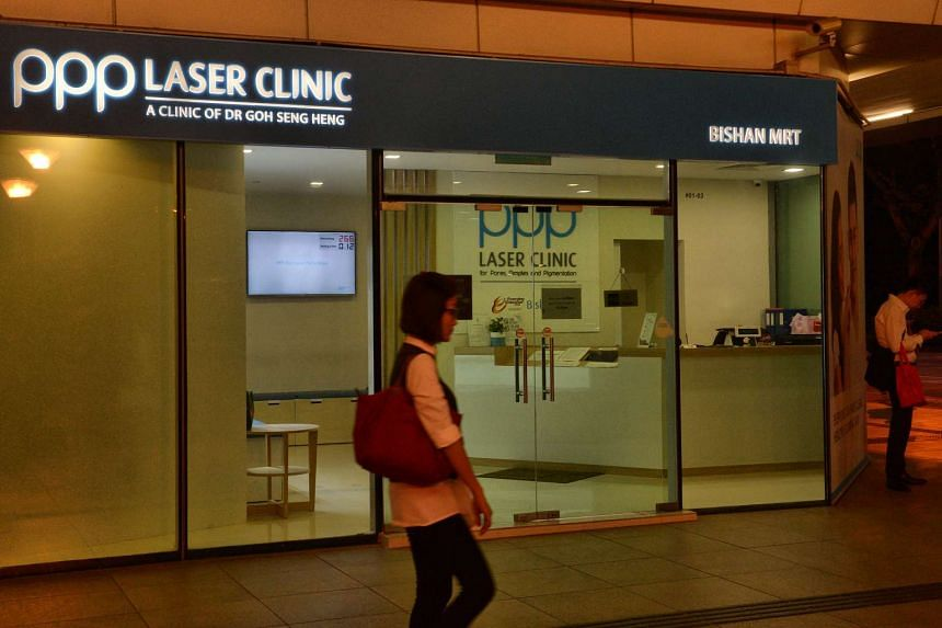 The PPP Laser Clinic at Bishan MRT station. Dr Goh Seng Heng launched the PPP brand with his daughter, Dr Michelle Goh, in 2011.
