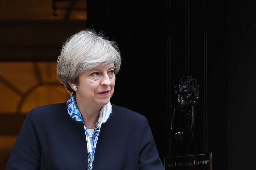 British Prime Minister Theresa May said that Syrian President Bashar al-Assad's government has the capability to make a poison gas attack.