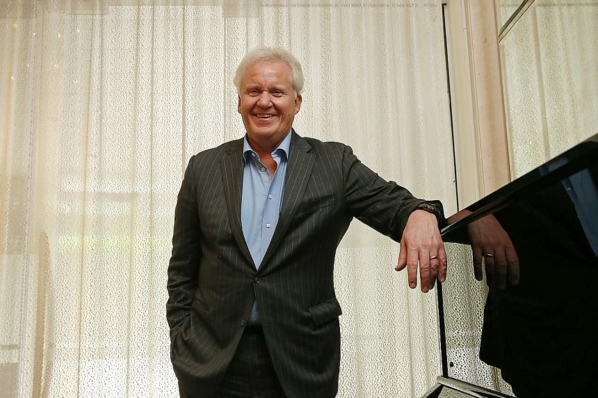 GE chairman and chief executive Jeff Immelt, who was in Singapore yesterday for the launch of the Asia Digital Operations Centre, said the company looks forward to working with its partners here to build a digital ecosystem and support entrepreneursh