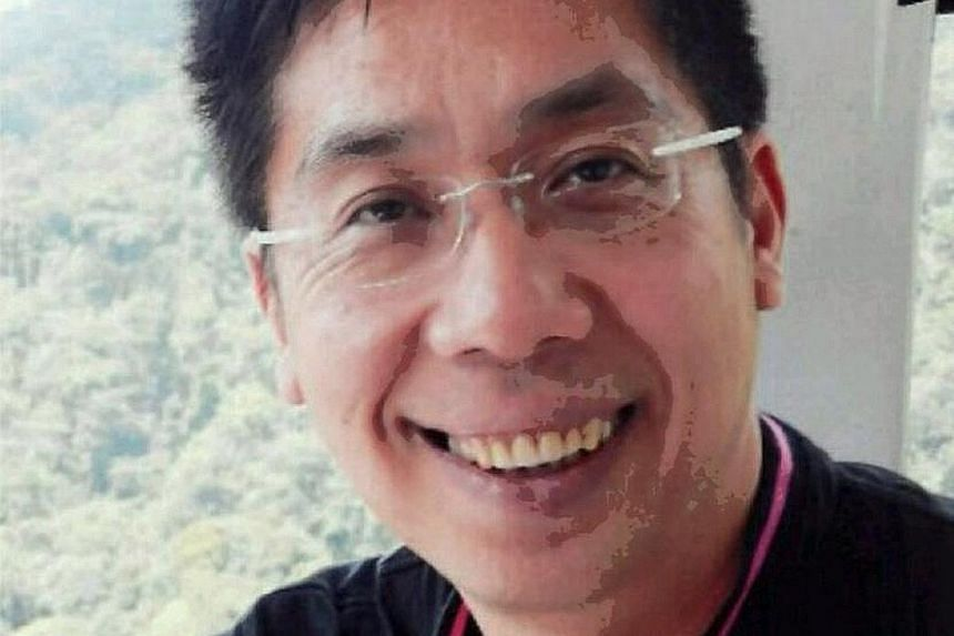Mr Peter Chong was allegedly abducted, but has been seen crossing from Malaysia into Thailand by bus.