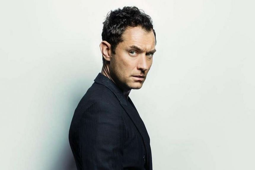 Jude Law (above) will play a young version of Hogwarts' venerable headmaster Albus Dumbledore.