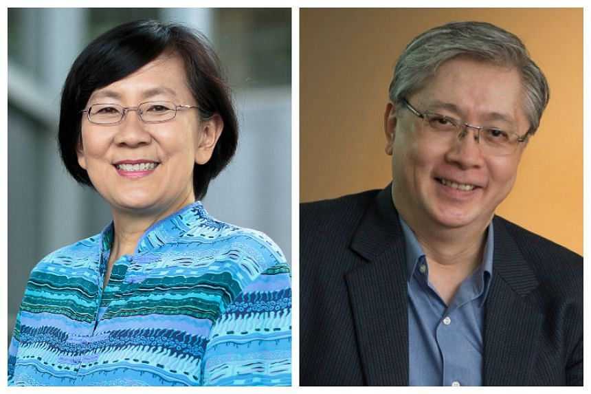 Professor Paulin Straughan (left) will take over from Professor Ong Siow Heng (right) as dean of students. Prof Ong will be appointed dean of international affairs.