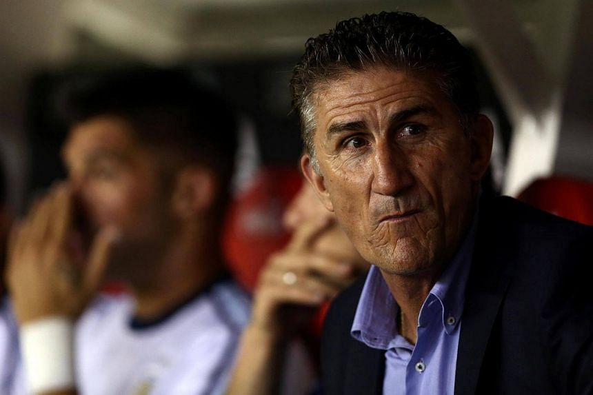 Coach Edgardo Bauza was sacked on Monday (April 10) after he picked up only 11 points in his eight World Cup qualifiers in charge.