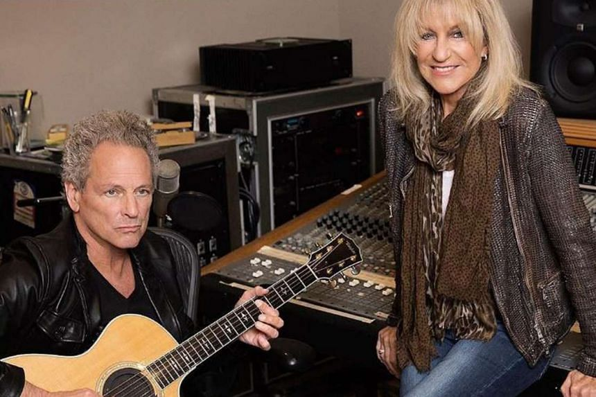 Lindsey Buckingham and Christine McVie's first single will be released tomorrow.