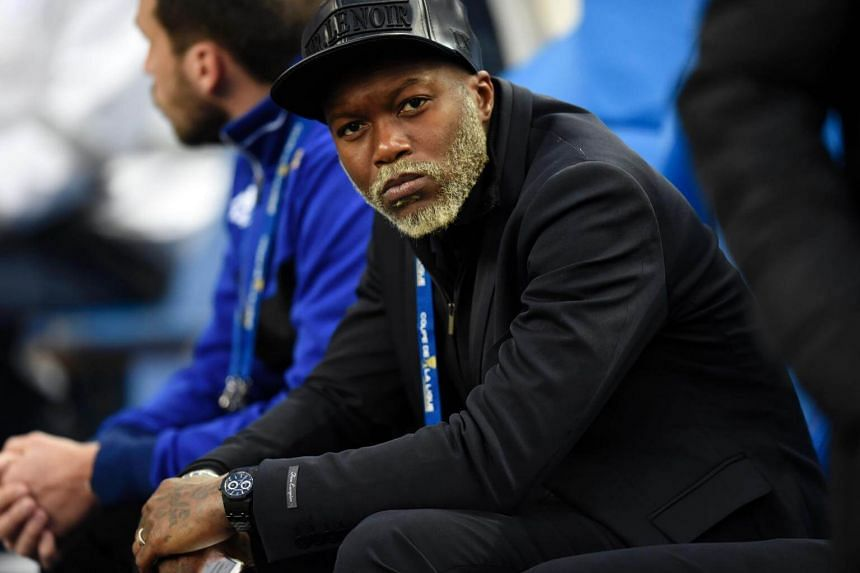 Djibril Cisse is being investigated for allegedly attempting to blackmail fellow player Mathieu Valbuena using a sex video.