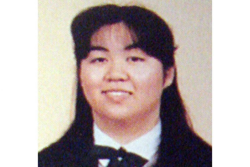 An undated file photo shows Kanae Kijima, who is convicted of murdering three boyfriends she had met online and dated for their money.