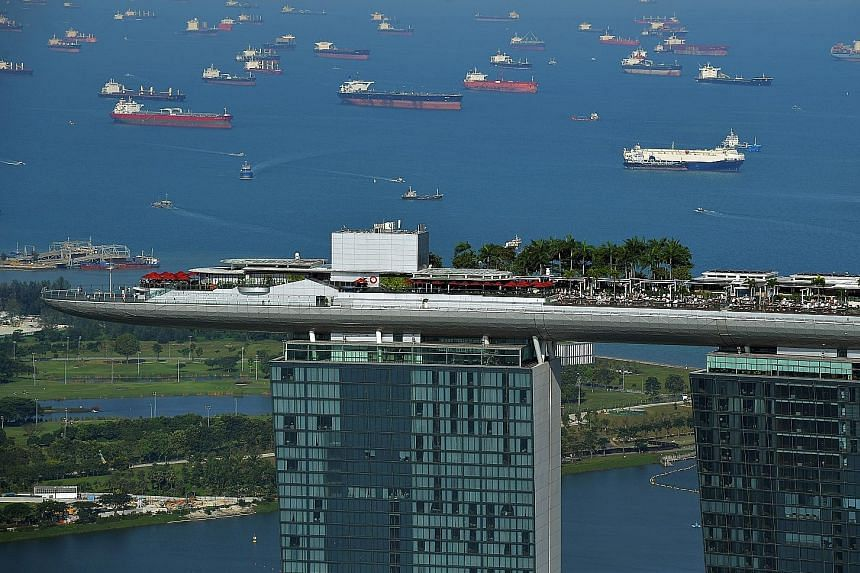Lots of fuel remains stored on tankers in Asia's oil trading hub around Singapore, in a sign of continuing oversupply. Thomson Reuters Eikon data shows that around 20 supertankers are currently sitting offshore Singapore and southern Malaysia, filled