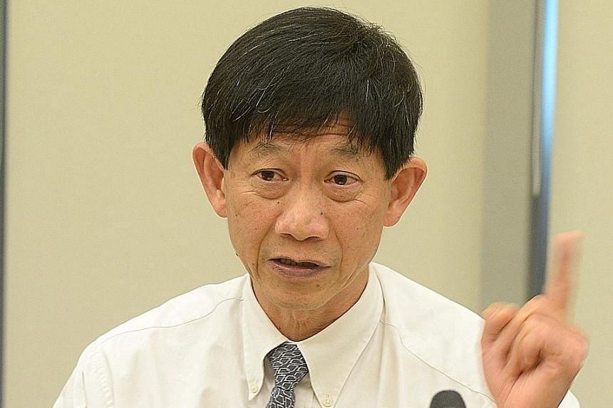 Professor Ang Chong Lye will be succeeded by his current deputy at SGH, Professor Kenneth Kwek.
