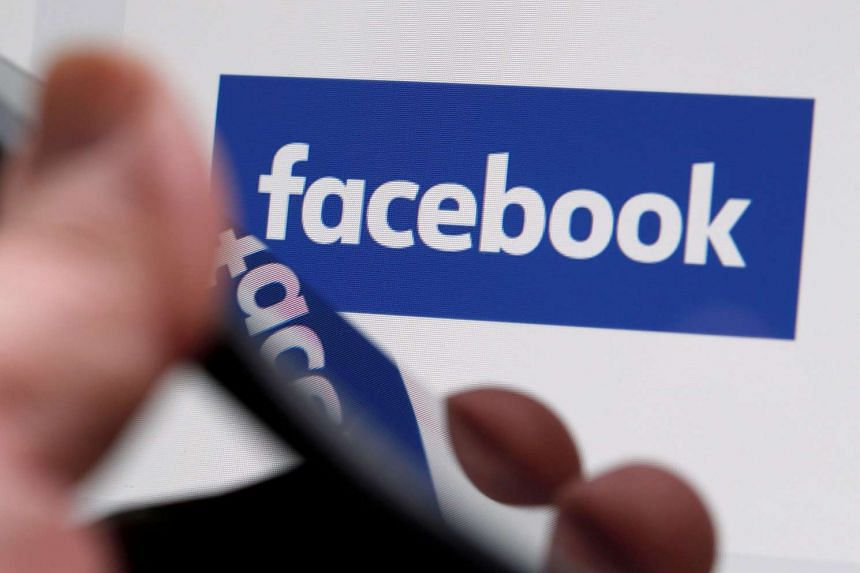The Facebook logo is displayed on the company's website in an illustration photo taken in Bordeaux, France.