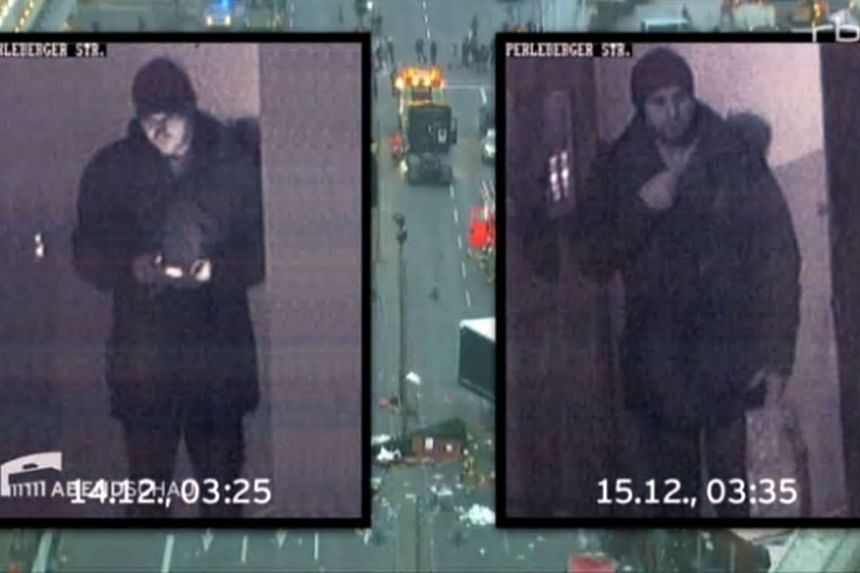 Surveillance footage shows Anis Amri, the suspected Berlin truck attacker gunned down by Italian police, transited through the French city of Lyon by train, a source close to the investigation said.