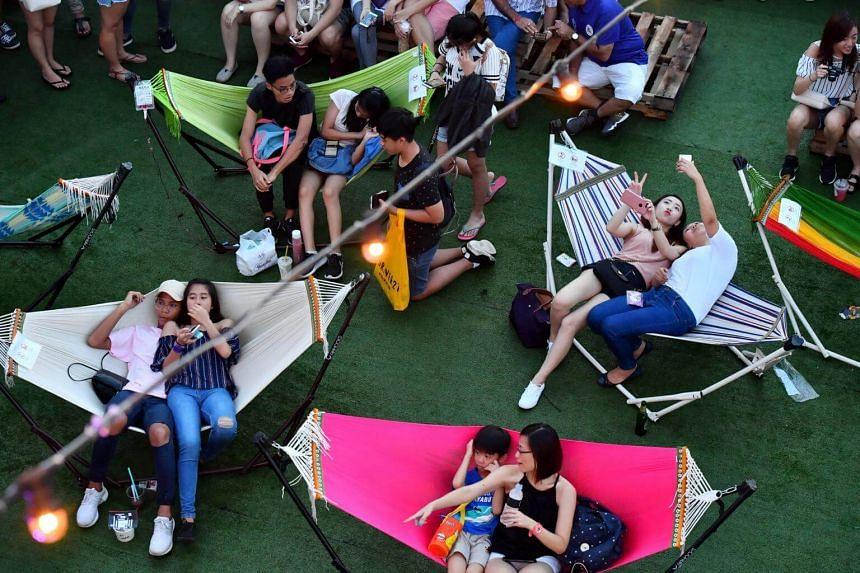The Singapore edition of Bangkok's popular creative market Artbox at Marina Bay on April 15, 2017.
