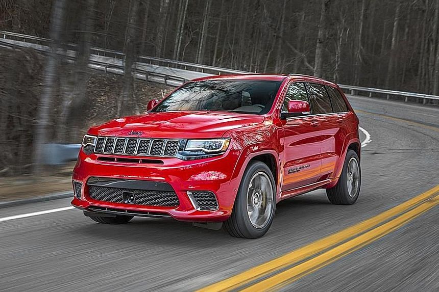 Jeep Grand Cherokee Trackhawk.