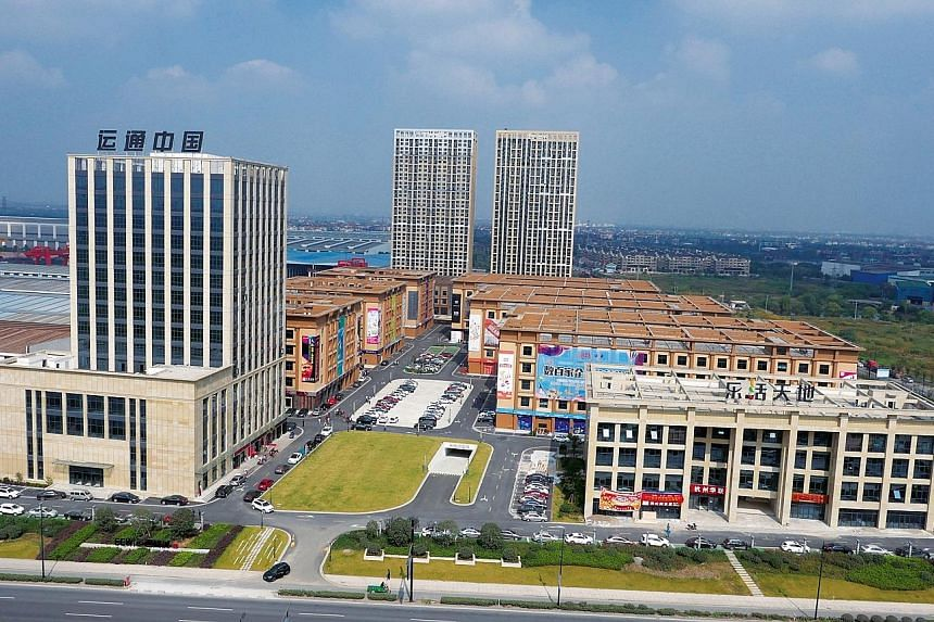 EC World Reit's portfolio of six key assets includes Bei Gang Logistics (above), whose warehouses are located in one of the largest e-commerce clusters in the Yangtze River Delta.