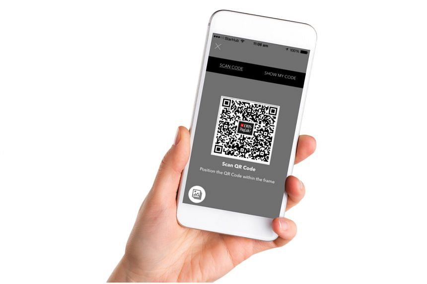 Users of the DBS PayLah! mobile wallet can now use the app to generate their own QR code to receive cash.