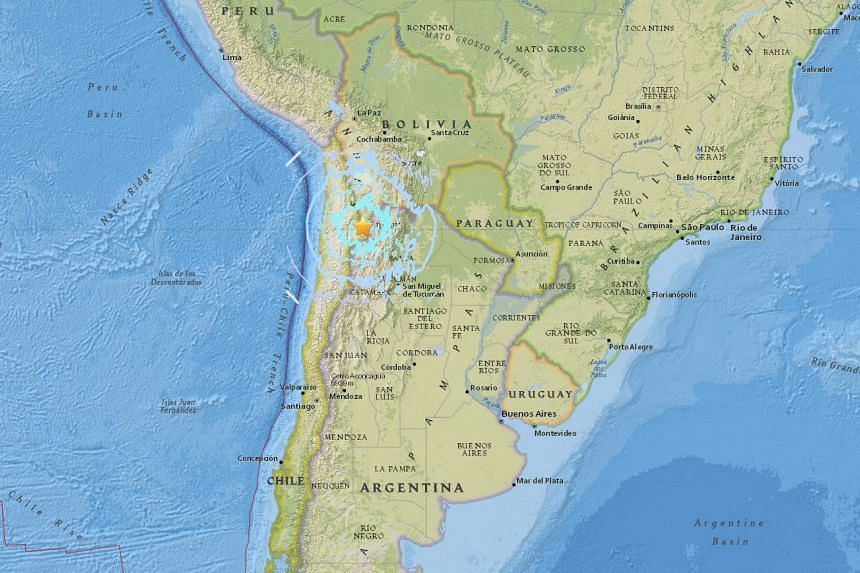 A 6.1-magnitude earthquake struck northern Chile on April 15, 2017.