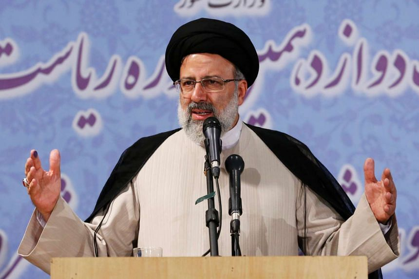 Ebrahim Raisi registered on Friday for the May 19 vote and his candidacy is being closely watched by foreign investors and diplomats.