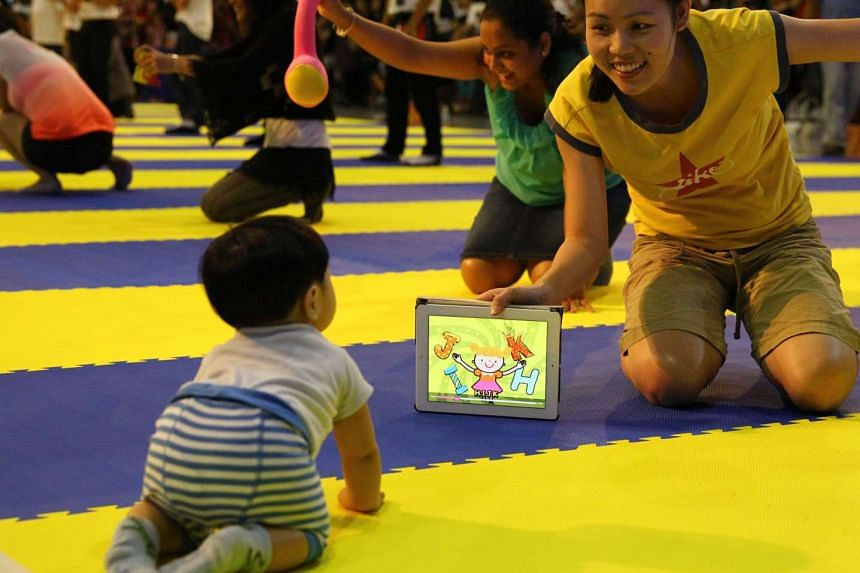 Toddlers who play with touchscreen devices frequently will sleep less, according to a study.