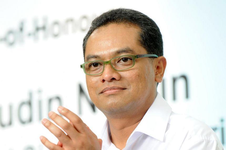 Former Football Association of Singapore president Zainudin Nordin.