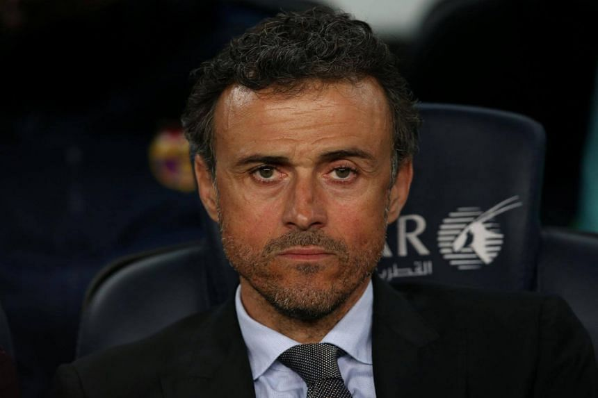"""Barcelona coach Luis Enrique says his team is """"a group of winners and champions capable of anything""""."""