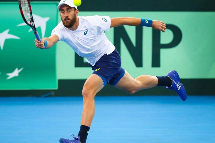 Steve Johnson will be seeking a second career ATP title when he takes on the eighth-seeded Thomaz Bellucci.