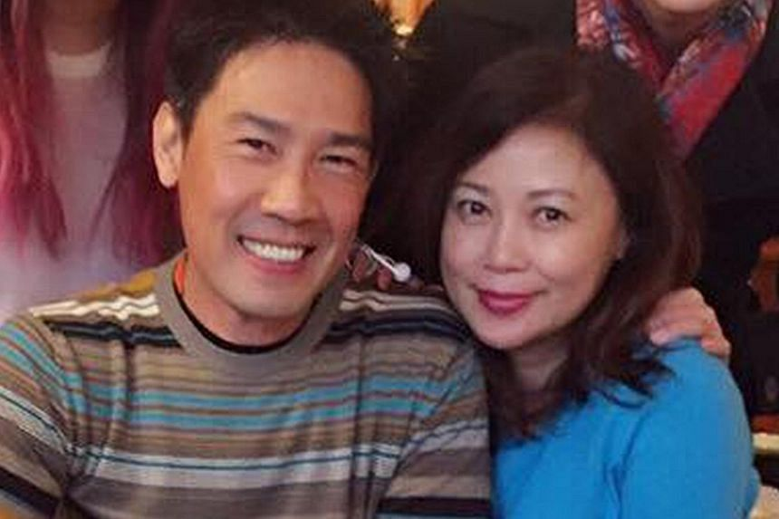 Actor Edmund Chen, seen here with his wife Xiang Yun, employed the woman to work for him part-time. He fired her in February, but she allegedly continued to pass herself off as his representative.