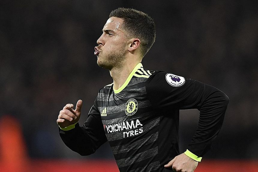 Stopping Chelsea midfielder Eden Hazard will be key for United in today's game at Old Trafford, but it's a task easier said than done. Hazard has been in imperious form for the Blues this season, and the league leaders want to send a statement to the